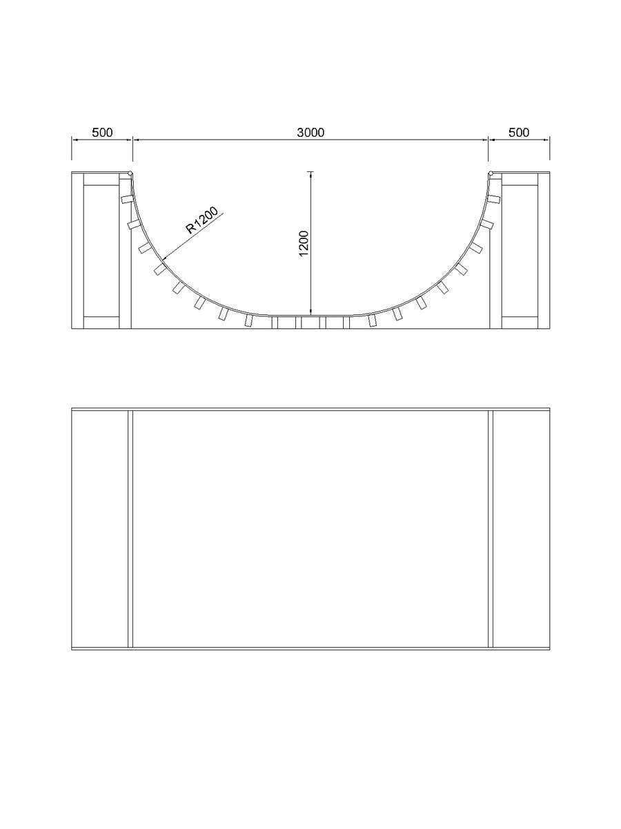 Proposition n°2 du concours Design a Mini Skate ramp