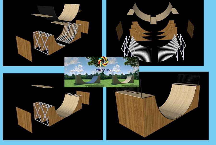 Inscrição nº 8 do Concurso para Design a Mini Skate ramp