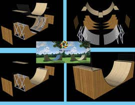 #8 para Design a Mini Skate ramp por wedesign99