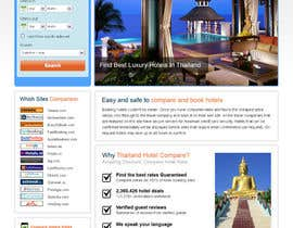 #18 for Design a website to use HotelsCombined white label by uniqueclick