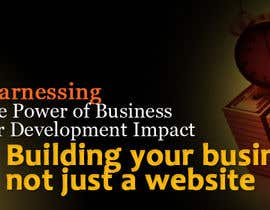#28 untuk Design a Banner for a website that does business and management coaching oleh dindinlx