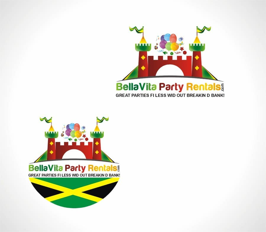 Bài tham dự cuộc thi #24 cho Design a Logo for Jamaican Party Rental Business