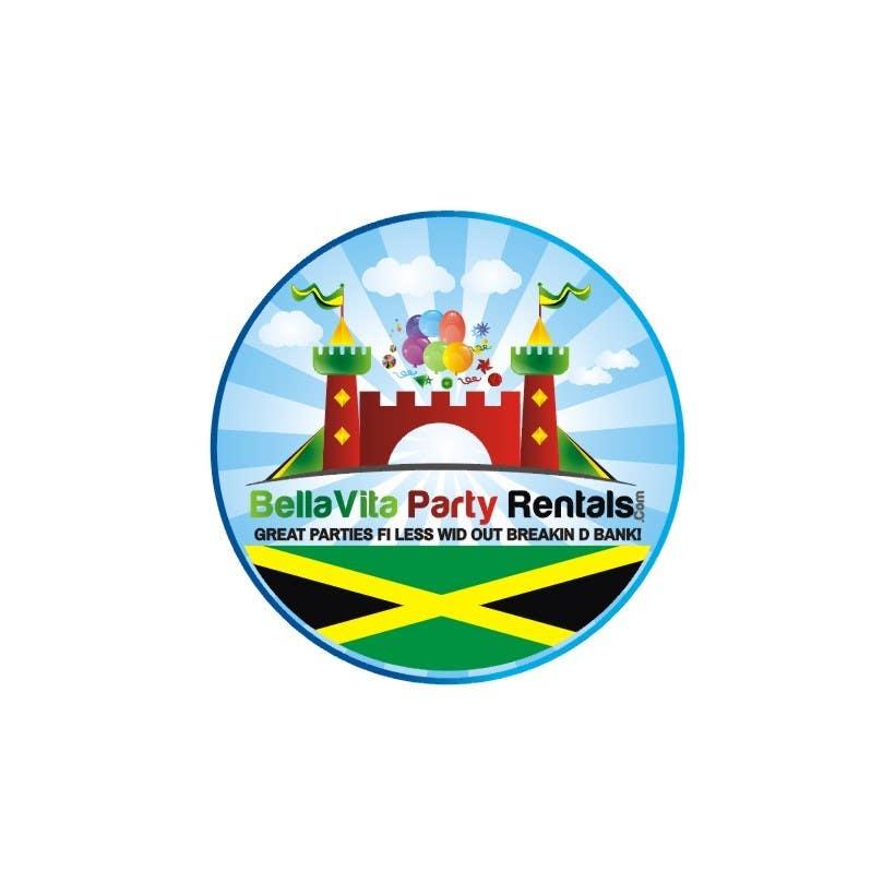 Bài tham dự cuộc thi #28 cho Design a Logo for Jamaican Party Rental Business