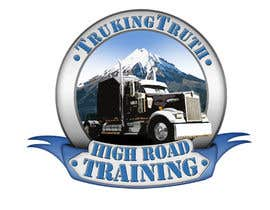 #136 for Design a Logo for TruckingTruth.com High Road CDL Training Program by OmB