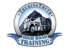 #141 para Design a Logo for TruckingTruth.com High Road CDL Training Program por OmB