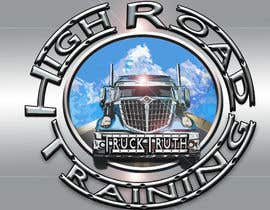#113 para Design a Logo for TruckingTruth.com High Road CDL Training Program por ilocun14