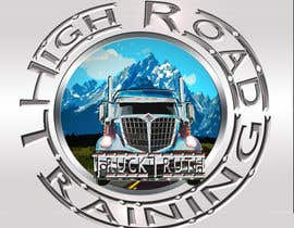 #143 para Design a Logo for TruckingTruth.com High Road CDL Training Program por ilocun14