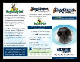 Nro 3 kilpailuun Design a Partnership Brochure for Off Leash K9 Raleigh and Pups Day Out käyttäjältä publishinggurus