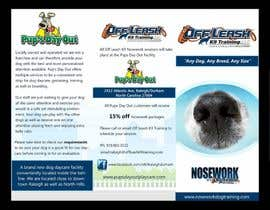 Nro 7 kilpailuun Design a Partnership Brochure for Off Leash K9 Raleigh and Pups Day Out käyttäjältä publishinggurus