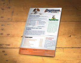 #2 para Design a Flyer for Off Leash K9 Training Raleigh 5x7 front and back por xtreemsteel