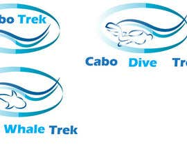 #35 para Design a Logo for Cabo Trek | Whale watching and more por lilybak