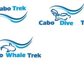 #46 para Design a Logo for Cabo Trek | Whale watching and more por lilybak