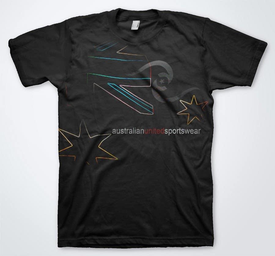 Konkurrenceindlæg #63 for T-shirt Design for Australian United Sportswear