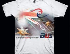 #62 para T-shirt Design for Australian United Sportswear de lolish22