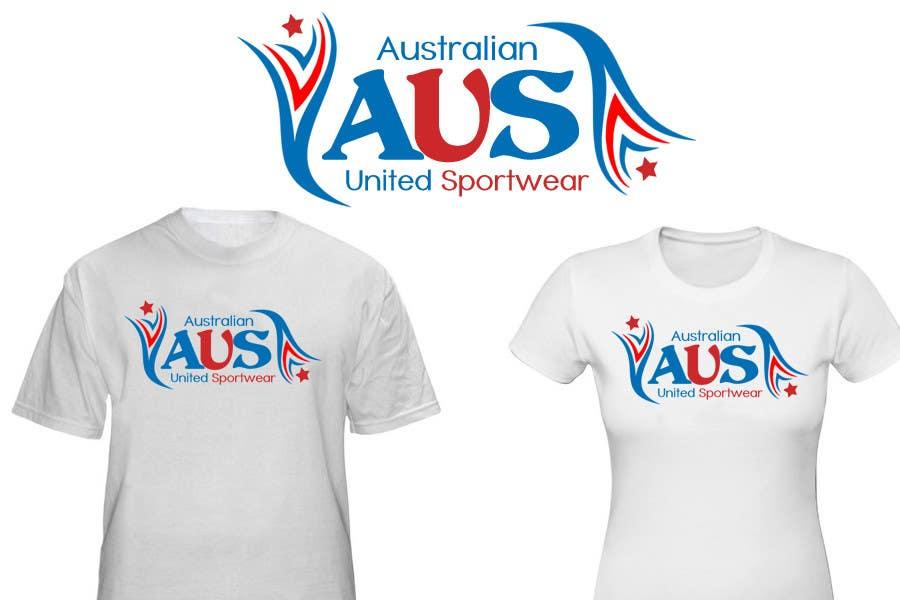 Inscrição nº                                         53                                      do Concurso para                                         T-shirt Design for Australian United Sportswear