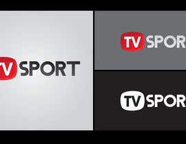 nº 40 pour Design a brilliant logo for TVsport par lingga1411