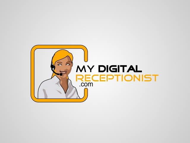Penyertaan Peraduan #43 untuk Design a Logo for A Digital Receptionist Website ASAP!