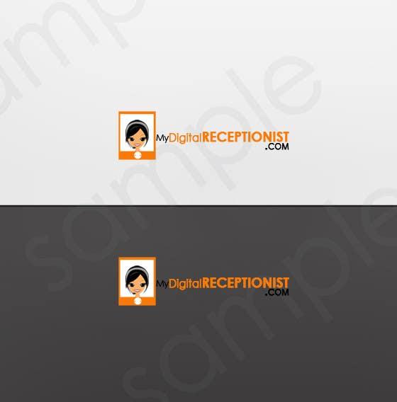 Penyertaan Peraduan #50 untuk Design a Logo for A Digital Receptionist Website ASAP!