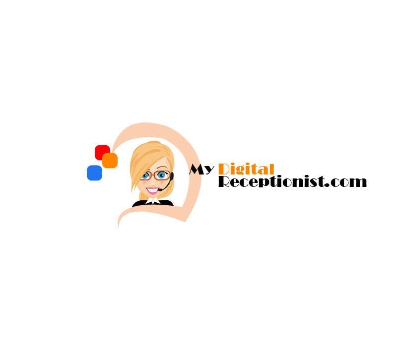 Penyertaan Peraduan #25 untuk Design a Logo for A Digital Receptionist Website ASAP!