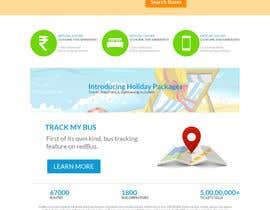 Nro 3 kilpailuun Create a website design for a travel portal käyttäjältä aryamaity