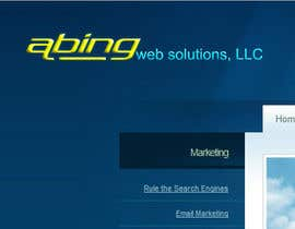 #104 para Logo Design for Abing Web Solutions, LLC por sukeshhoogan