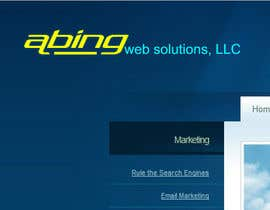 #107 для Logo Design for Abing Web Solutions, LLC от sukeshhoogan