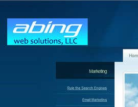 #126 para Logo Design for Abing Web Solutions, LLC por sukeshhoogan