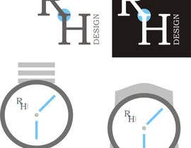 #42 para Design eines Logos for RH DESIGN por morizu