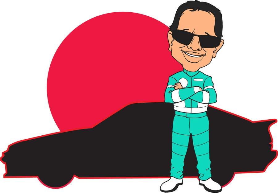 Bài tham dự cuộc thi #                                        9                                      cho                                         Caricature of a Japanese Man