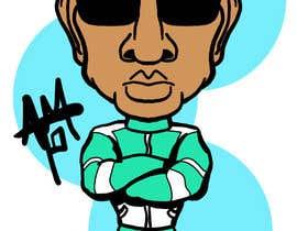 #6 for Caricature of a Japanese Man af allentmatthews