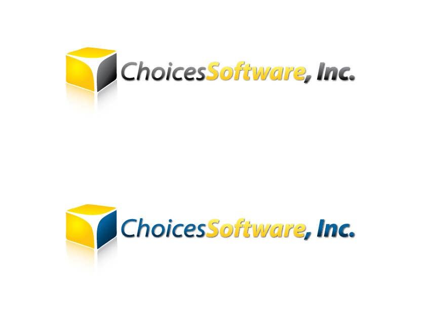 Konkurrenceindlæg #                                        1291                                      for                                         Logo Design for Choices Software, Inc.