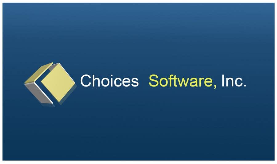 Konkurrenceindlæg #                                        1026                                      for                                         Logo Design for Choices Software, Inc.