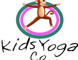 nº 45 pour Design a Logo for Kids Yoga using Monkey par adityajoshi37