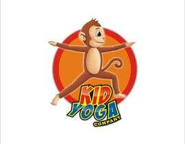 #17 untuk Design a Logo for Kids Yoga using Monkey oleh abd786vw