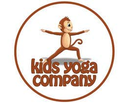 nº 53 pour Design a Logo for Kids Yoga using Monkey par daysofmagic