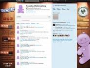 Graphic Design Kilpailutyö #29 kilpailuun Twitter Background for towebs.com