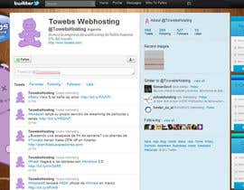 #5 for Twitter Background for towebs.com by pxleight