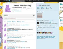 #14 untuk Twitter Background for towebs.com oleh pxleight