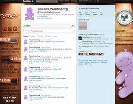 #20 untuk Twitter Background for towebs.com oleh pxleight