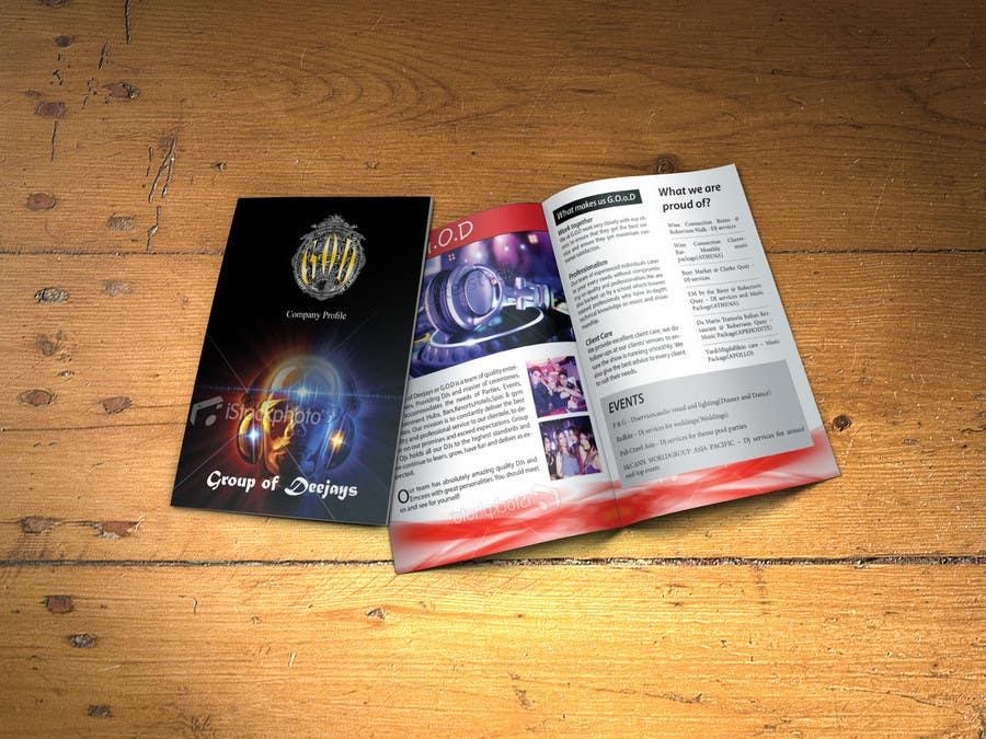 Kilpailutyö #7 kilpailussa Design a Brochure for Company Profile