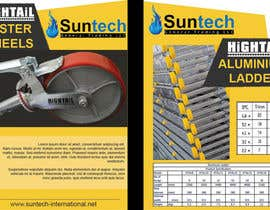 #5 for Design a Two Page Brochure for HIGHTAIL Ladders & Casters af GreenworksInc