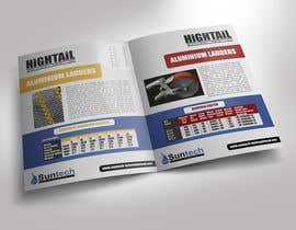 #21 cho Design a Two Page Brochure for HIGHTAIL Ladders & Casters bởi rimskik