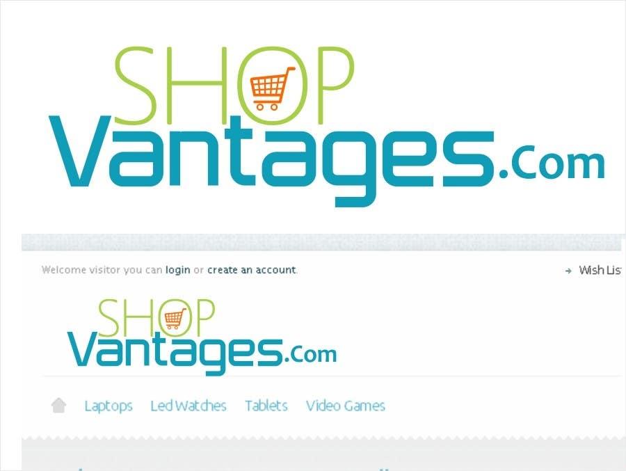 Inscrição nº 27 do Concurso para Logo Design for ShopVantages.com