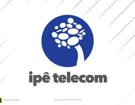 #14 para Design a Logo for Ipê Telecom por johnniemaneiro
