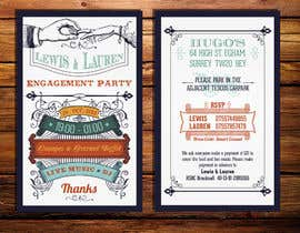 nº 20 pour DESIGN MY ENGAGEMENT PARTY INVITATIONS par kdneel