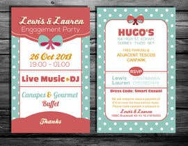 #21 untuk DESIGN MY ENGAGEMENT PARTY INVITATIONS oleh kdneel