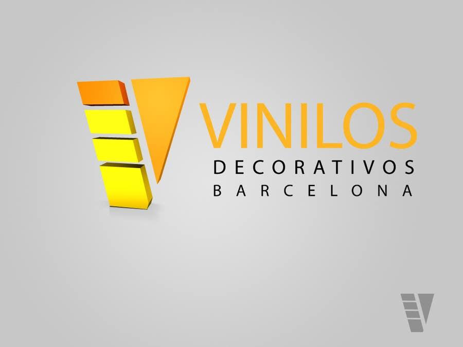 #59 for Design a Logo for a decorative vinyl web by hafizawais456