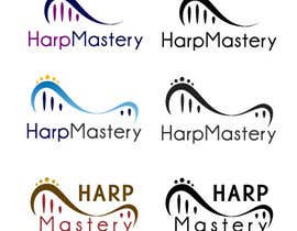 nº 8 pour Design a Logo for Harp Music Coaching par miguelpoblete