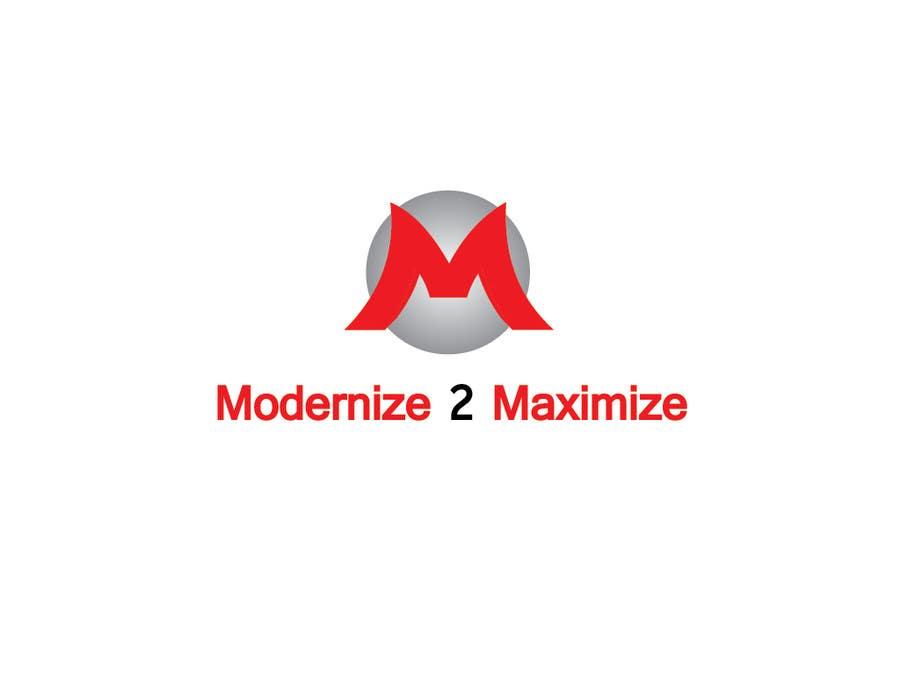 Konkurrenceindlæg #2 for Design a Logo for Modernize 2 Maximize