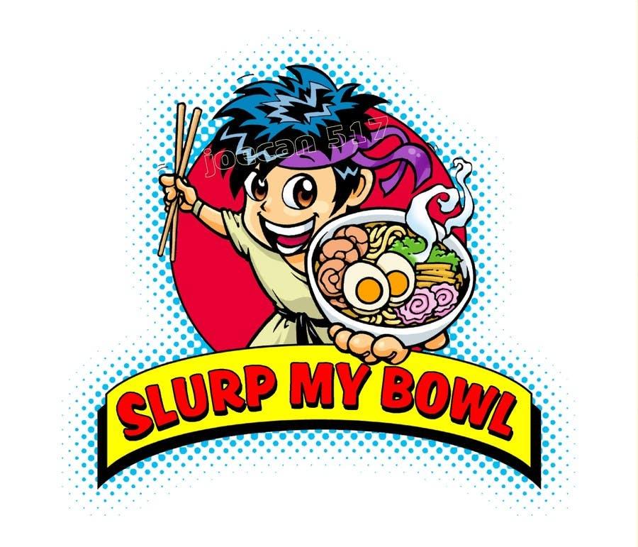 "Bài tham dự cuộc thi #76 cho Food Blog Logo ""Slurp My Bowl"""